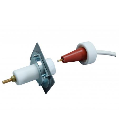 High Voltage Wire Connectors : Kv high voltage connectors
