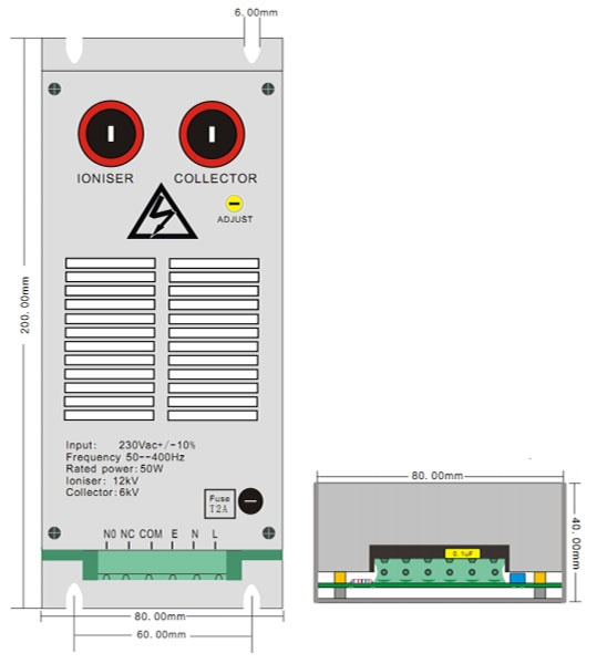AF01 High Voltage Module|20W,30W,40W,50W Output Power|Genvolt - Air